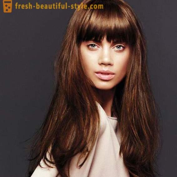 Haarfarbe braun oder brunett